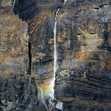 Cairnes Glacier Falls