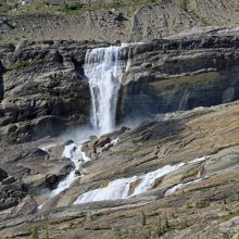 Mummery Glacier Falls